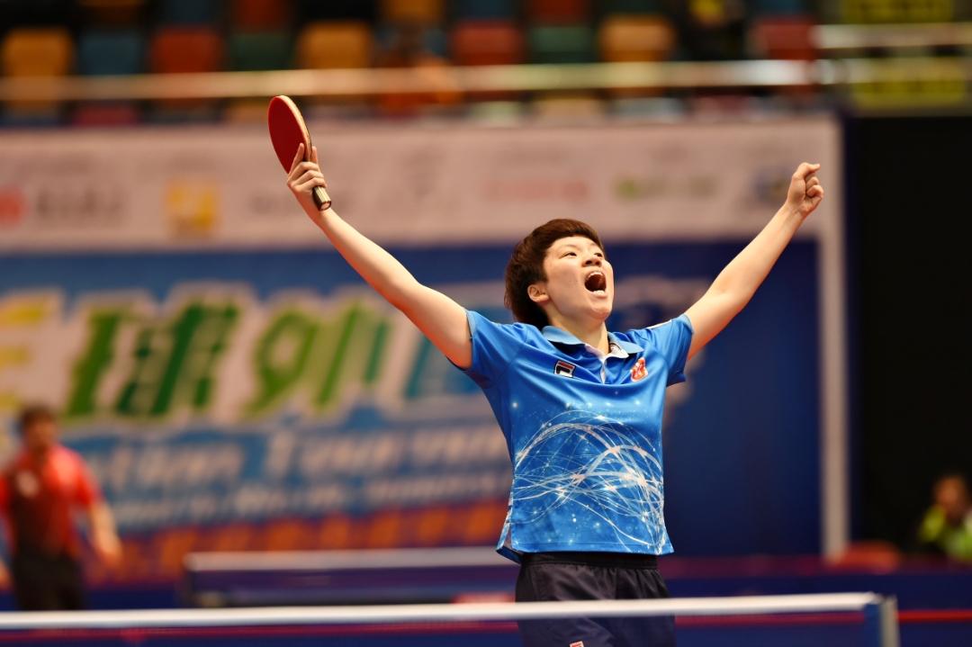 亞洲乒乓球外圍賽 2016里約熱內盧奧運外圍賽第一個賽事日