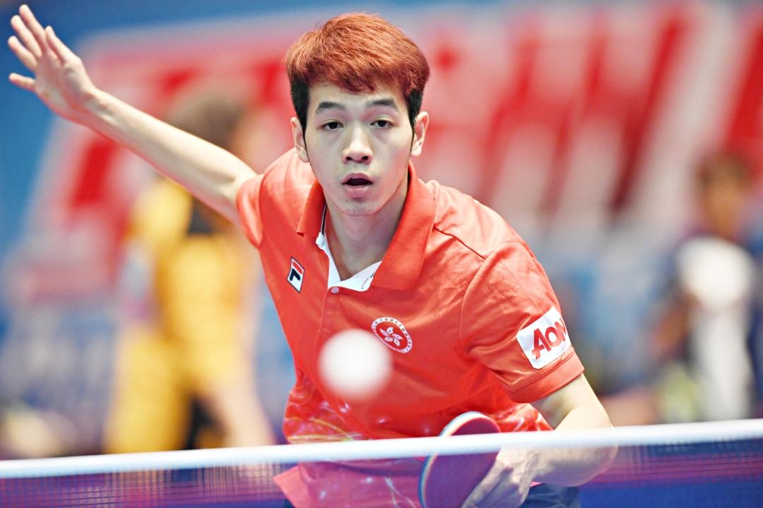 亞洲乒乓球外圍賽 2016里約熱內盧奧運外圍賽第三個賽事日